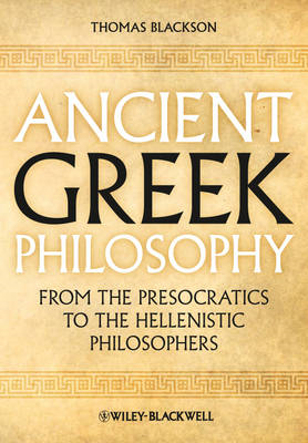 Ancient Greek Philosophy (BOK)