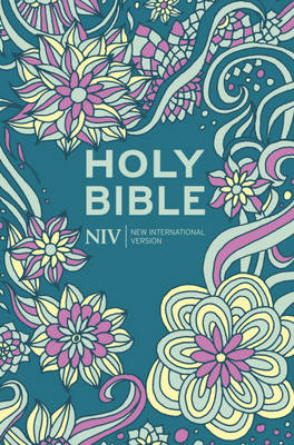 NIV Pocket Floral Hardback Bible (BOK)