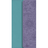 NIV Diary Turquoise / Purple Soft-tone Bible with Clasp (BOK)