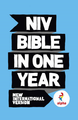 NIV Alpha Bible in One Year (BOK)