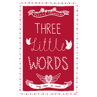 Three Little Words: They Mean So Much (BOK)