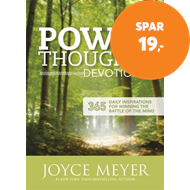Produktbilde for Power Thoughts Devotional (BOK)