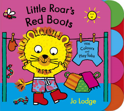 Little Roar's Red Boots (BOK)
