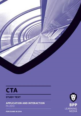 CTA Application and Interaction FA2013: Study Text (BOK)