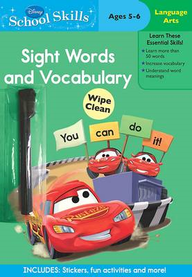 Disney School Skills: Cars Sight Words and Vocabulary (BOK)