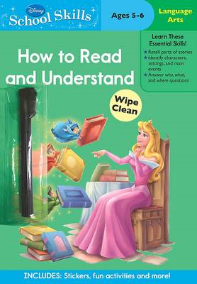 Disney School Skills: Princess How to Read and Understand (BOK)