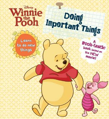 Winnie the Pooh - Doing Important Things (BOK)