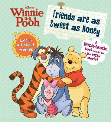 Winnie the Pooh - Friends are as Sweet as Honey (BOK)