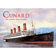 Cunard the Golden Years in Colour (BOK)