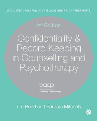 Confidentiality & Record Keeping in Counselling & Psychother (BOK)