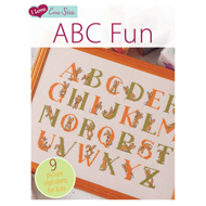 I Love Cross Stitch: ABC Fun: 9 Picture Alphabets for Kids (BOK)