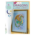 I Love Cross Stitch: Dragons & Unicorns: 8 Fantasy Creatures to Stitch (BOK)
