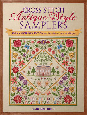 Cross Stitch Antique Style Samplers (BOK)