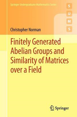 Finitely Generated Abelian Groups and Similarity of Matrices Over a Field (BOK)