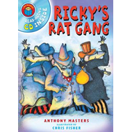 I am Reading with CD: Ricky's Rat Gang (BOK)
