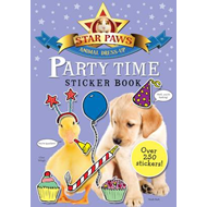 Party Time Sticker Book: Star Paws: An Animal Dress-up Sticker Book (BOK)