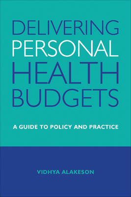 Delivering personal health budgets (BOK)
