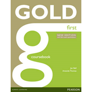 Gold First New Edition Coursebook (BOK)
