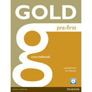 Gold Pre-first Coursebook and CD-ROM Pack (BOK)