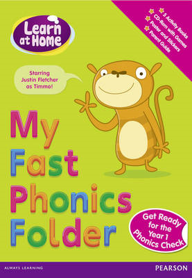 Learn at Home: My Fast Phonics Folder Pack (BOK)
