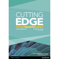 Cutting Edge 3rd Edition Pre-Intermediate Students' Book and (BOK)