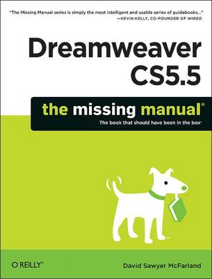 Dreamweaver CS5.5: The Missing Manual (BOK)