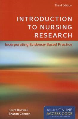 Introduction To Nursing Research (BOK)