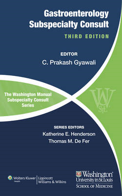 The Washington Manual of Gastroenterology Subspecialty Consult (BOK)