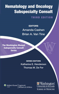 The Washington Manual of Hematology and Oncology Subspecialty Consult (BOK)