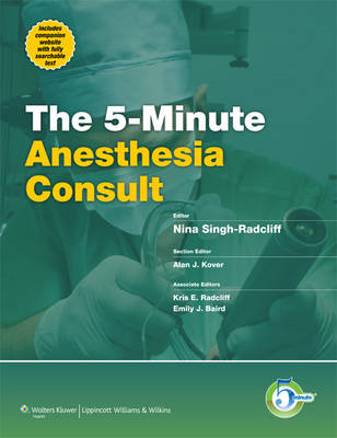 5-minute Anesthesia Consult (BOK)