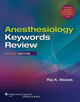 Anesthesiology Keywords Review (BOK)
