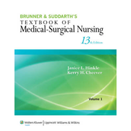 Brunner & Suddarth's Textbook of Medical-Surgical Nursing (BOK)