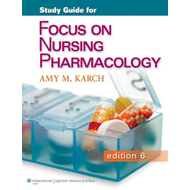 Study Guide for Focus on Nursing Pharmacology (BOK)