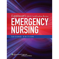 Lippincott's Q&A Certification Review: Emergency Nursing (BOK)