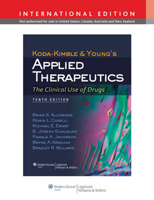 Koda-Kimble and Young's Applied Therapeutics: The Clinical Use of Drugs (BOK)