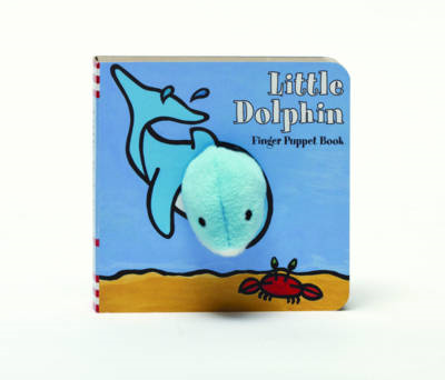 Little Dolphin Finger Puppet Book (BOK)