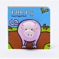 Little Pig Finger Puppet Book (BOK)