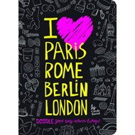 I Love Paris, Rome, Berlin, London (BOK)