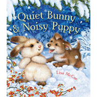 Quiet Bunny & Noisy Puppy (BOK)