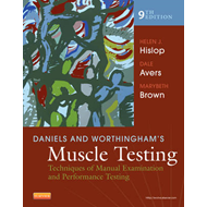 Daniels and Worthingham's Muscle Testing (BOK)
