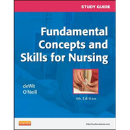 Study Guide for Fundamental Concepts and Skills for Nursing (BOK)
