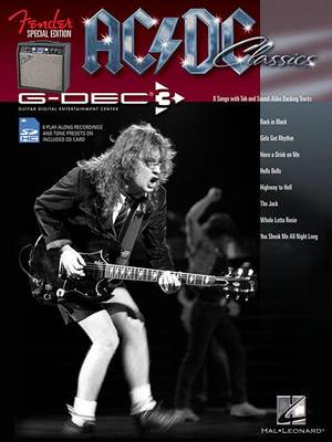 AC/DC: Fender Special Edition G-Dec Guitar Play-Along Pack (BOK)