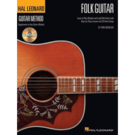 Hal Leonard Guitar Method: Folk Guitar (BOK)