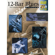 Dave Rubin: 12-Bar Blues - The Complete Guide for Guitar (BOK)