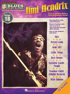 Jimi Hendrix: Blues Play-Along: Volume 18 (BOK)