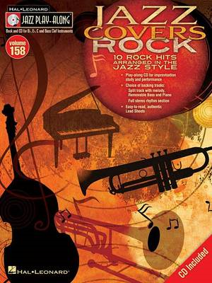 Jazz Play-Along: Jazz Covers Rock: Volume 158 (BOK)