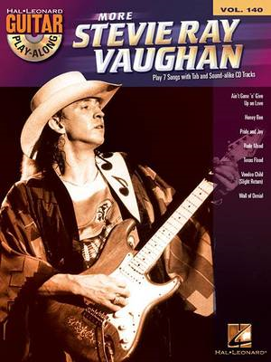 Guitar Play Along: More Stevie Ray Vaughan: Volume 140 (BOK)