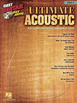 Easy Guitar Play-Along: Ultimate Acoustic: Volume 5 (BOK)