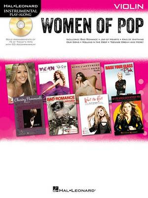 Hal Leonard Instrumental Play-Along: Women of Pop - Violin (BOK)