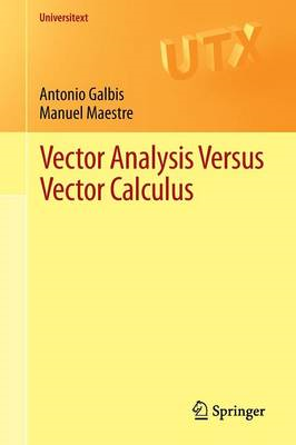 Vector Analysis Versus Vector Calculus (BOK)